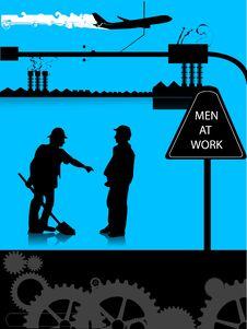 Free Men At Work Stock Image - 5776841