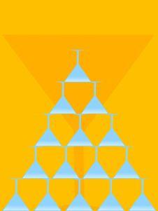 Free Glass Pyramid Royalty Free Stock Photos - 5776938