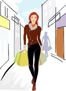 Free Shopping Royalty Free Stock Photo - 5777245