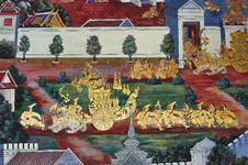 Free Thailand Bangkok Wat Phra Kaew Royalty Free Stock Photos - 5777458