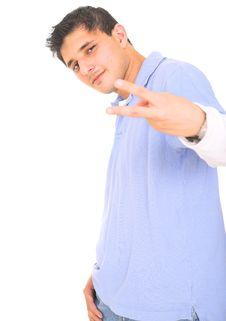 Free Teen Posing Punk Style Stock Image - 5777751