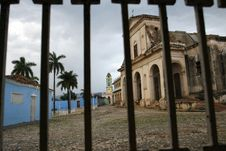 Free Church At Cuba Stock Images - 5777804