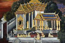 Free Thailand Bangkok Wat Phra Kaew Royalty Free Stock Photography - 5777817