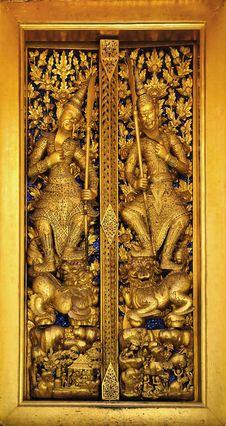 Free Thailand Bangkok Wat Phra Kaew Stock Image - 5778131
