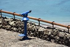 Free Coin-operated Binoculars At The Seaside Stock Images - 5778134