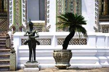 Free Thailand Bangkok Wat Phra Kaew Royalty Free Stock Image - 5778186