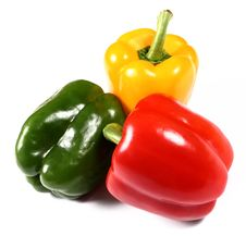 Free Red, Yellow And Green Paprika Stock Photos - 5778193