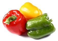Free Red, Yellow And Green Paprika Stock Images - 5778274