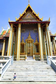 Free Thailand Bangkok Wat Phra Kaew Royalty Free Stock Photo - 5778285