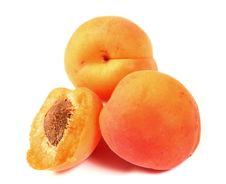 Free Apricots Isolated Stock Image - 5778321