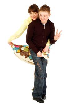 Free Young Joyful Couple Royalty Free Stock Images - 5779569