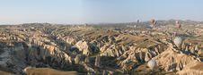 Hot Air Balloons Over Cappadocia At Sunrise Royalty Free Stock Photo