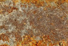 Texture Of Old And Rusty Metal Royalty Free Stock Photo