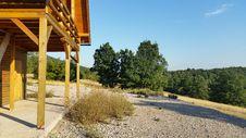 Free Croatia Udbina-hunters Houses Stock Photography - 57746612