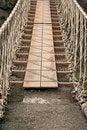 Free Rope Bridge Royalty Free Stock Photography - 5781907