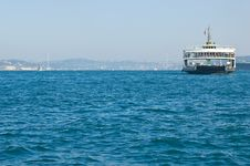 Free Ferry And View Of The Bosporus Royalty Free Stock Image - 5780256