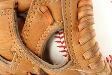 Free Baseball Glove Stock Photography - 5780832
