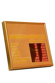 Indicator Board Royalty Free Stock Image