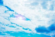 Free Blue Sky With Clouds Stock Photos - 5781373