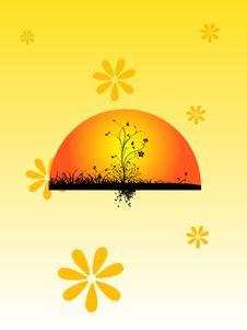 Free Rising Sun Royalty Free Stock Photos - 5782448