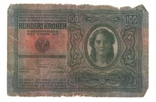 Old Hungarian Banknote