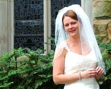 Free Bride Outside Royalty Free Stock Photos - 5782708