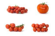 Free Tomatoes.Isolated. Stock Photo - 5782920