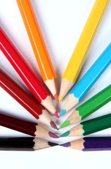 Free Colour Pencils Royalty Free Stock Photo - 5782925