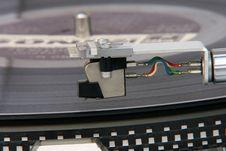 Free Turntable Cartridge Detail Royalty Free Stock Image - 5783026