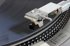 Free Turntable Record Royalty Free Stock Images - 5783049