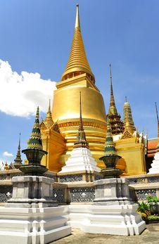 Thailand Bangkok Wat Phra Kaew Stock Images