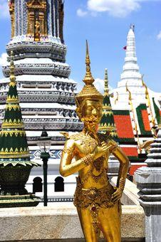 Free Thailand Bangkok Wat Phra Kaew Royalty Free Stock Image - 5784016