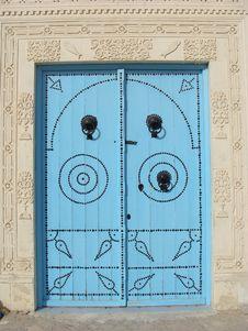Tunisian Door Stock Photos