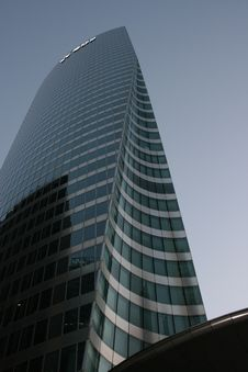 Free Building In Paris La Defense Stock Photography - 5784972