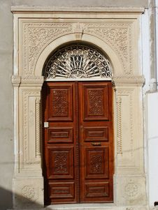 Tunisian Door Royalty Free Stock Photo