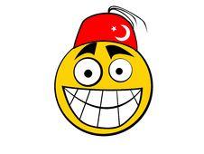 Free Smiley Icon Turkish Stock Image - 5785371