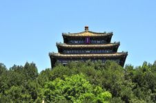 Free Great Pavilion In Beijing Stock Images - 5785504