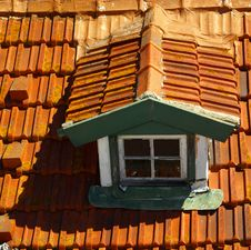 Free Red Roof S Window Stock Photos - 5786363