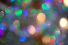 Rainbow Bokeh Stock Images
