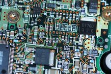 Free Electronic Circuit Board Stock Photography - 5786822