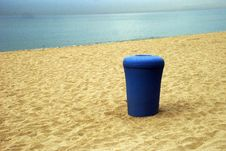 Free Garbage On The Beach Stock Images - 5786834