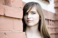 Free Young Model Portrait Royalty Free Stock Image - 5786996