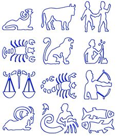 Free Zodiac Signs Stock Images - 5787504