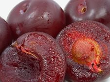 Free Plums Close Up Royalty Free Stock Image - 5787986
