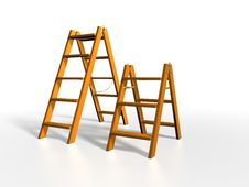 Free Wooden Ladder Stock Images - 5788364