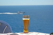 Free Beer On Holiday Stock Photography - 5788422