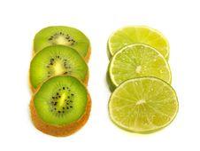 Free Kiwi And Lime Slices Stock Image - 5788931