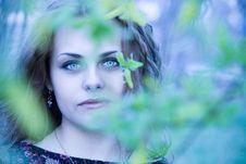 Free Green Eyes Royalty Free Stock Image - 5789806