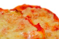 Free Two Little Pizzas 2 White Back Stock Photo - 5789980