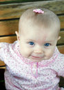 Free Baby In Pink - Vertical Royalty Free Stock Photos - 5791438